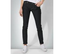 Jeans in Raw-Optik