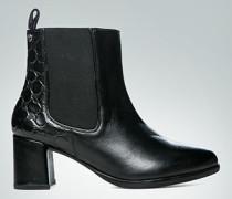 Schuhe Stiefelette mit Prägung