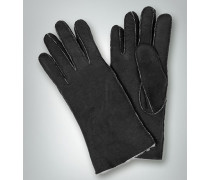 Fingerhandschuh mit Lammfell innen