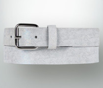 Gürtel Ledergürtel mit reflektierender Hologramm-Optik