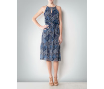 Kleid mit Print im Patchwork-Look