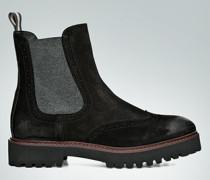 Schuhe Chelsea Boots im Vintage-Look