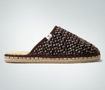 Schuhe Homeslipper in melierter Optik