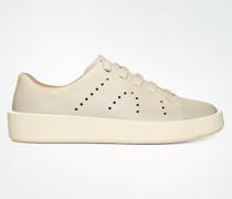 Schuhe Sneaker aus perforiertem Leder