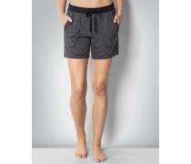 Nachtwäsche Pyjama-Shorts im Streifen-Look