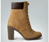 Schuhe Stiefelette aus Nubukleder