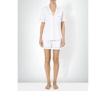 Nachtwäsche Kurzer Pyjama mit Revers