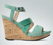 Schuhe Wedge-Sandalette mit Kork