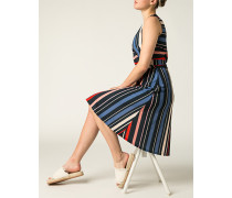 Kleid im Streifen-Dessin