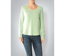 Shirt-Bluse aus Viskose
