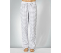 Nachtwäsche Pyjama-Pants im Karo-Design