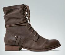 Schuhe Stiefelette aus Nappaleder