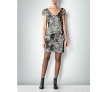 Kleid im Millefleurs-Dessin