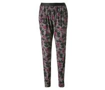 Nachtwäsche Pyjamapants mit Bundfalten