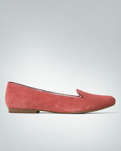 Schuhe Smoking-Slipper aus Veloursleder