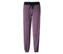 Nachtwäsche Pyjamapants in grafischem Dessin
