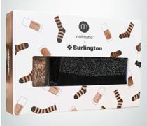 Socken Socken mit passendem Nagellack