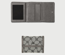 Geldbörse, Querformat, Textilgewebe