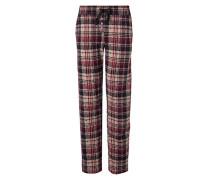 Nachtwäsche Pyjamapants im Karo-Look