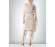 Kleid in Leinen-Optik