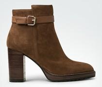 Schuhe Stiefelette mit Riegel
