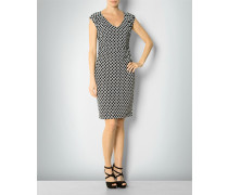 Jersey-Kleid im Retro-Look