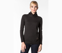 Pullover, Wolle, grau