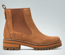 Schuhe Chelsea Boots mit farbiger Profilsohle