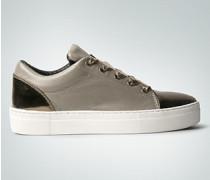 Schuhe Sneaker mit Satinschnürsenkel