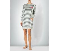 Lounge-Kleid im Streifen-Look
