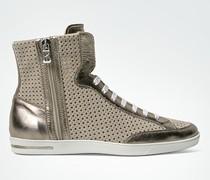 Schuhe Knöchelhoher Sneaker mit Stanzmuster
