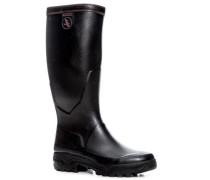 Schuhe Gummistiefel, Parcours2, schwarz