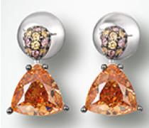 Schmuck Ohrringe mit Zirkonia