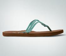 Schuhe Zehensandale mit Flechtdetail