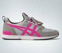 Schuhe Sneaker sehr leicht aus Velourslederimitat und Nylon