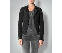 Jacke in Leder-Optik