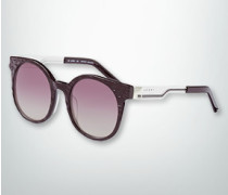 Brille Sonnenbrille mit geprägter Wasserstruktur