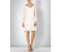 Kleid mit Plissee-Oberrock