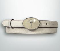 Gürtel Gürtel mit Logo-Schließe