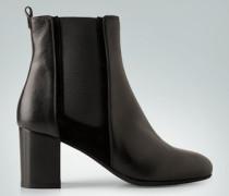 Schuhe Chelsea Boots aus Glatt- und Veloursleder