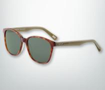Brille Sonnenbrille mit Bügel in Kontrastfarbe
