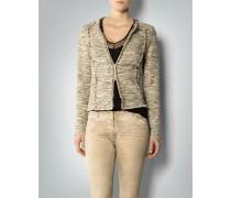 Blazer in Tweed-Optik
