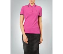 Polo-Shirt mit Kontrastdetails