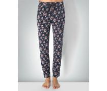 Nachtwäsche Pyjamapants in floralem Dessin