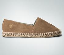 Schuhe Espadrilles aus Veloursleder