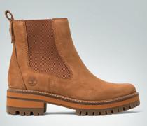 Schuhe Chelsea Boots mit farbiger Profilsohle