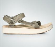 Schuhe Sandale mit Kontrastsohle