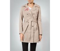 Mantel Trenchcoat aus Baumwolle