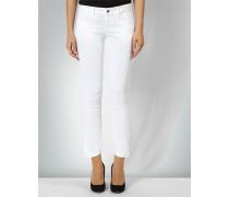 Jeans mit Faltendetails