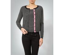 Pullover Twin-Set mit Polka-Dots